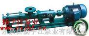 螺杆泵:GF型单螺杆泵(整体不锈钢)
