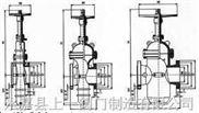 SZ4A2WF(DY)150-600Lb、SZ44WF(DY)150-600Lb带导流平板闸阀