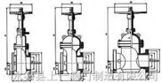 SZ4A2WF(DY)150-600Lb、SZ44WF(DY)150-600Lb无导流平板闸阀