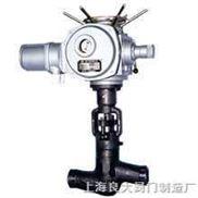 陶瓷高温高压截止阀 电动焊接电站截止阀 高温高压对焊截止阀