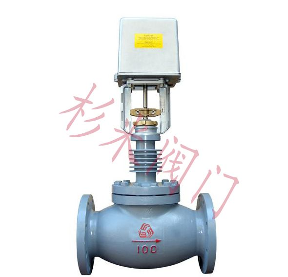 sgv7000蒸汽电动二通阀|高温电动二通调节阀图片