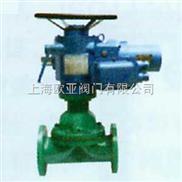 G941F电动衬聚四氟乙烯隔膜阀