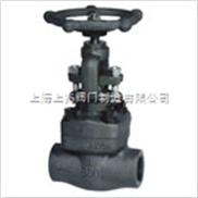 大连式焊接锻钢截止阀(A105)